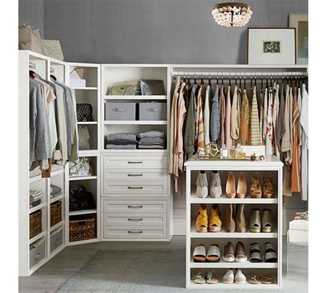 Building Your Own Closet by Build Your Own Sutton Modular Cabinets Pottery Barn
