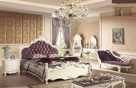 luxury master bedroom furniture sets with bed royal chair