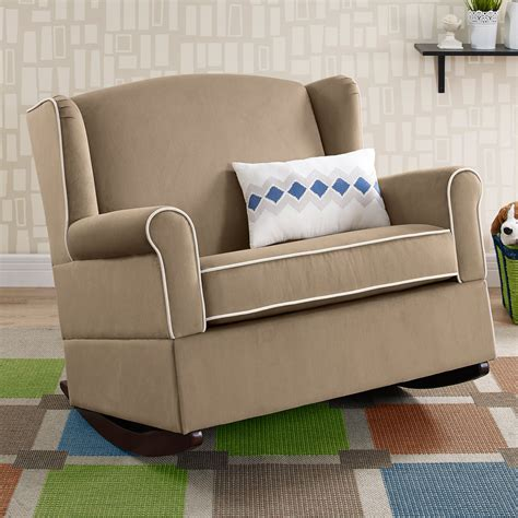 Rocking Chair And A Half - baby relax lainey wingback chair and a half rocker