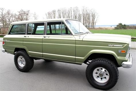 1970 jeep grand wagoneer for sale 1970 jeep wagoneer grab a wrench wish list