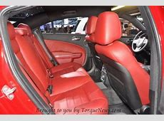The 2011 Dodge Charger RT Max interior rear Torque News