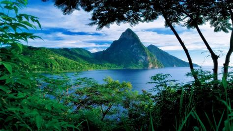 st lucia wallpapers wallpapersafari