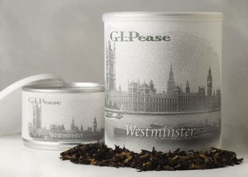 Ideal Image Westminster G L Pease Tobaccos The Heirloom Series