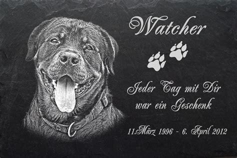 grabstein tiergrabstein gedenkstein rottweiler hund
