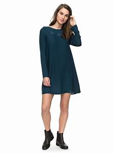 rise with the sun long sleeve dress 3613372957048 roxy With robe fluide manche longue