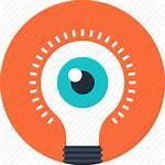 Inspiration Icons Icon Creativity Creative Vision Eye