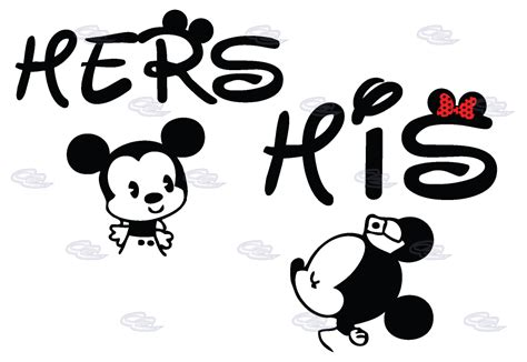 his and hers designs mickey minnie mouse his and hers t shirts v
