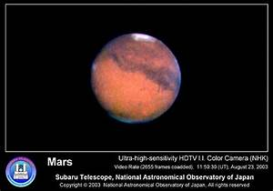 Press Release - Subaru Observes Mars with IRCS and HDTV ...