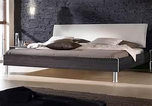 Bett 200x200 Weiß Bettkasten : bett fargo von nolte mooreiche und kopfteil wei 200x200 cm ~ Bigdaddyawards.com Haus und Dekorationen