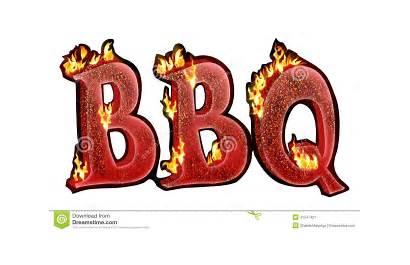 Bbq Tekst Fire Flames Charcoal Texte Effect