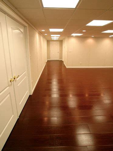 basement flooring tiles with a built in vapor barrier