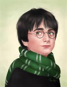Harry Potter as Slytherin