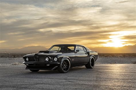Ford Mustang 429 by Ojo Al Ford Mustang 429 De Classic Recreations Con 820 Cv
