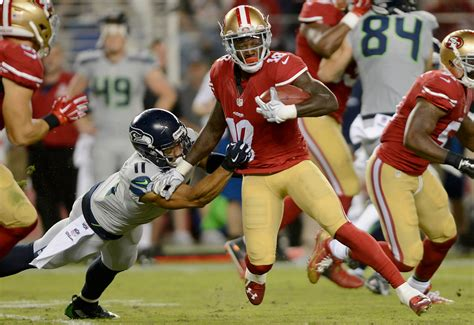 ers seahawks rivalry   competitive sfbay