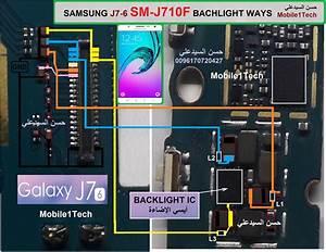 Samsung Galaxy J7 J710f Cell Phone Screen Repair Light Problem Solution Jumper Ways