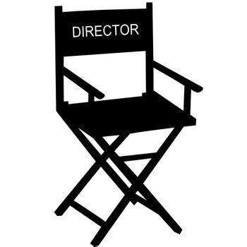 chaise cinema chaise directeur cinéma concept cinéma