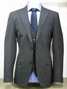 Costume 3 Pièces Gris : costume alessandro 3 pi ces micro gris alessandro paris ~ Dallasstarsshop.com Idées de Décoration