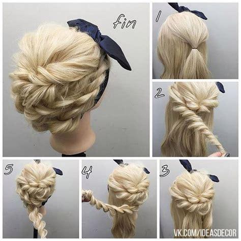 60 Easy Step by Step Hair Tutorials for Long Medium Short