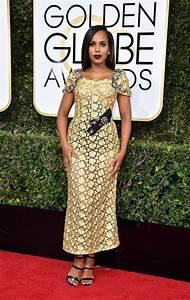 Kerry Washingtons Dolce Gabbana Golden Globes Dress Isn