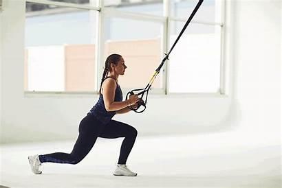Trx Workout Lunge Squat Pistol Plyometric Minute