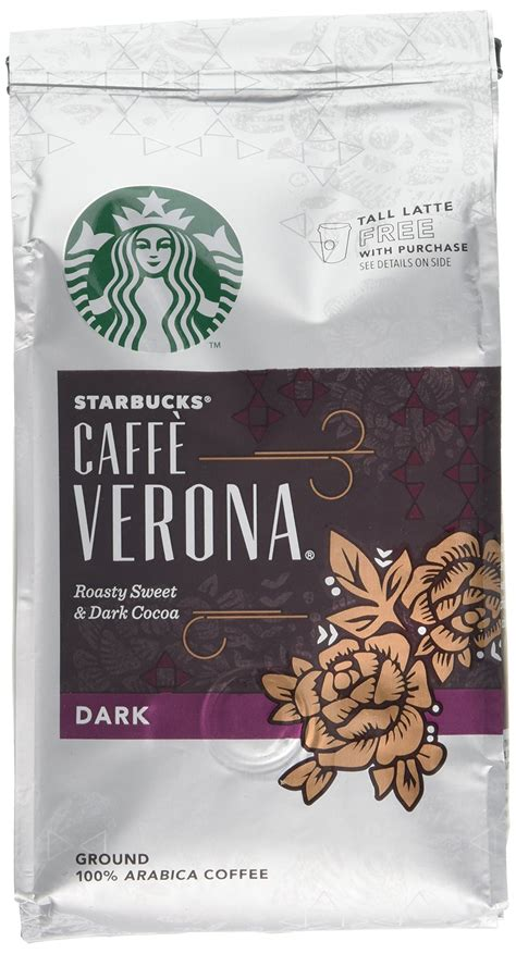Starbucks french roast whole bean coffee. Starbucks Verona Blend Ground Coffee 200 g (Pack of 6)- Buy Online in United Arab Emirates at ...