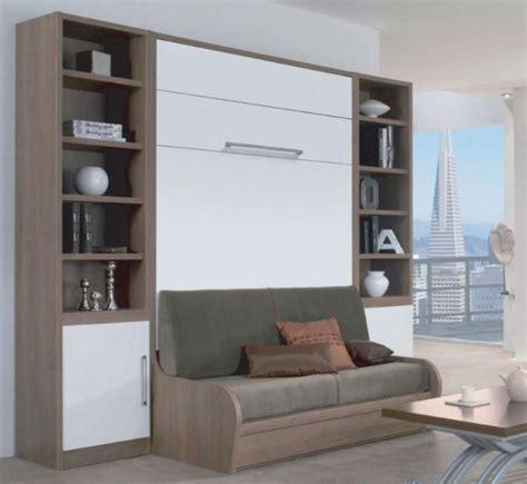 armoire lit canapé escamotable 23 best lit escamotable images on furniture