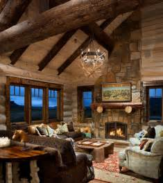 Top Photos Ideas For Log Cabins Designs And Floor Plans by 21 Rustic Log Cabin Interior Design Ideas Style Motivation