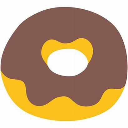 Svg Emoji Donut Clipart Wikimedia Commons Transparent