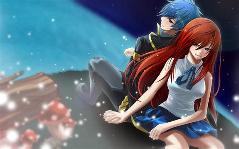 couples  fairy tail images erza  jellal hd