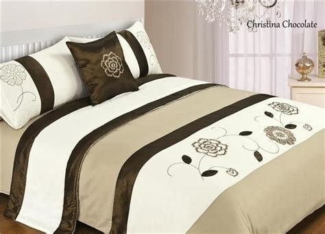 5 Piece Bed In A Bag Bedding Duvet Quilt Cover Set, Double