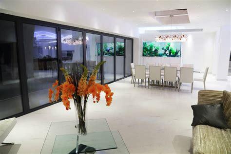 amazing built  aquariums  interior design