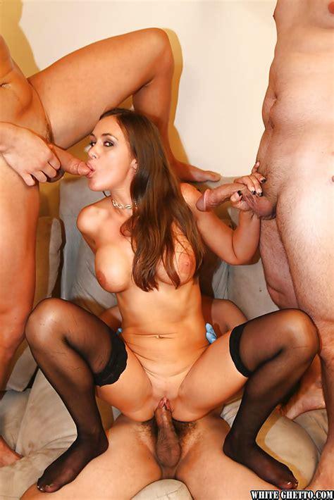 Mature Slut With Big Tits Anita Lay Enjoys Gangbang In