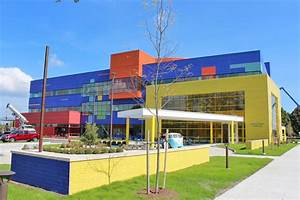 Splash of primary colors mark DMC-Troy Children's Hospital