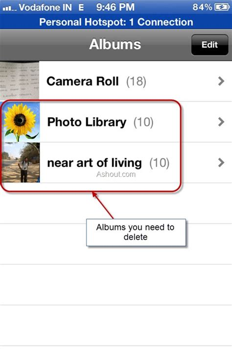 delete photos from iphone delete photo albums from iphone easily using itunes