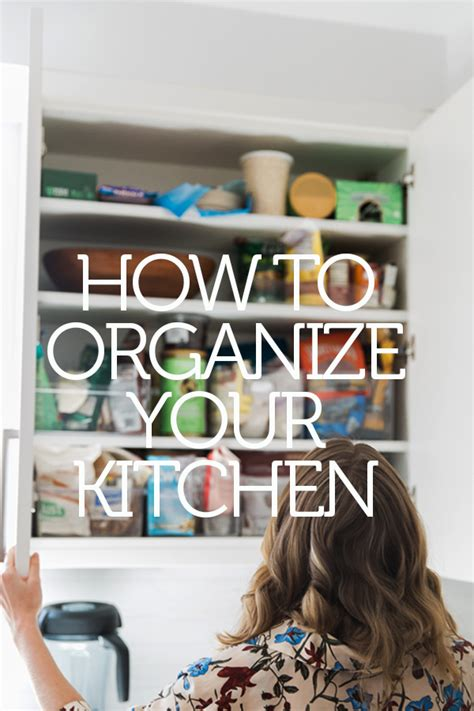 organize  kitchen cabinets  pantry feed  phoebe