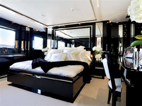 black  white bedroom design suggestions interior