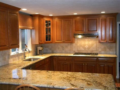 Granite Countertops With Backsplash : Solutions To Overcome High Price Of Granite Countertops