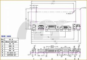 M Nt68676 2 Lcd  Led Controller Board Hdmi Dvi Vga Audio