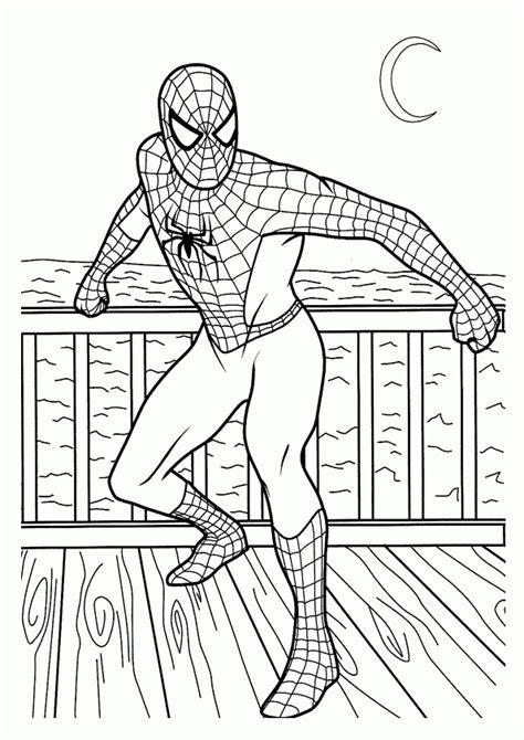 spiderman  malvorlagen