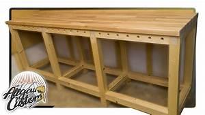 Küchenzeile Selber Bauen : stabile werkbank selber bauen how to build a workbench teil 2 4 youtube ~ Watch28wear.com Haus und Dekorationen