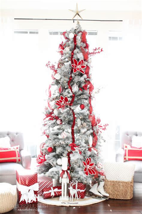 Ideas Decorating White Tree by A Classic And White Tree Tree Decorating Ideas