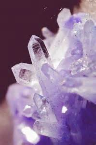 Purple Wiccan Stones and Crystals