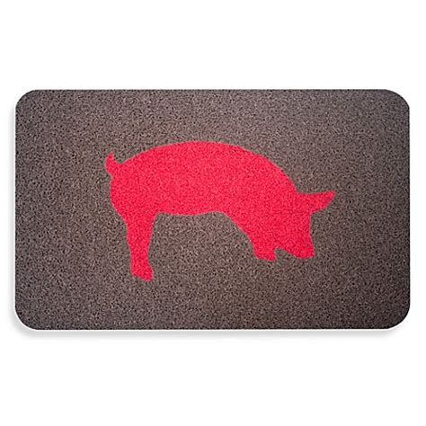 Kikkerland Doormat by Kikkerland Pig Door Mat Bed Bath Beyond