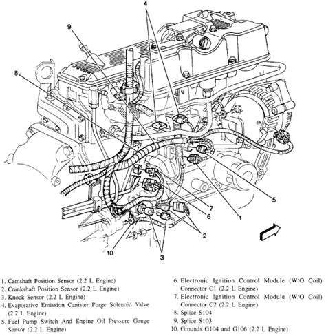 1996 Chevy Cavalier 2 4 Engine Diagram by I A 1996 Chevy S10 With 2 2 4 Cyl And Auto