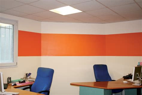 bureau plus ca décoration bureau orange déco sphair