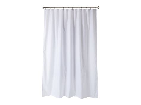 interdesign waterproof fabric shower curtain liner