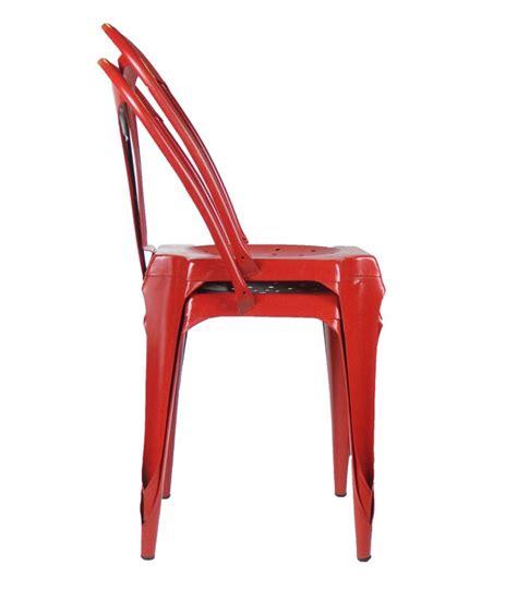 chaise style industriel en m 233 tal vintage wadiga