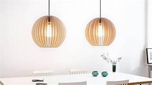 Pendelleuchte Aus Holz : pendelleuchte aion holzlampen h ngelampen aus holz ~ Lizthompson.info Haus und Dekorationen