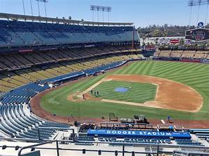 Dodger Stadium Seating Map With Rows