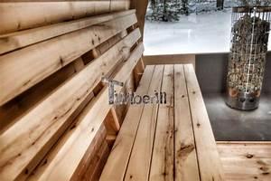 Design Sauna Mit Glas : au ensauna mit vorraum und holz elektroofen igloo mit panoramafenster ~ Sanjose-hotels-ca.com Haus und Dekorationen